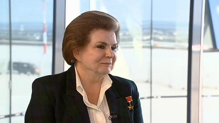 """Мнение"": Валентина Терешкова о подвиге Юрия Гагарина"