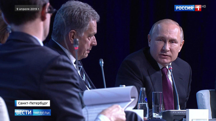 Путин: будущее России не зависит от санкций