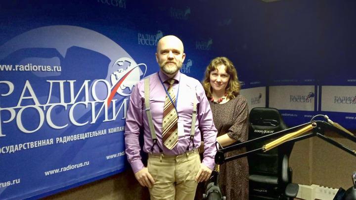 Дмитрий Конаныхин и Дарья Еремеева в студии