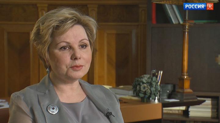 Гендиректор Музеев Московского Кремля Елена Гагарина отмечает юбилей