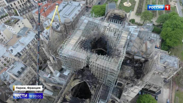 Служители Notre-Dame de Paris пытались потушить собор сами, потеряв драгоценные минуты