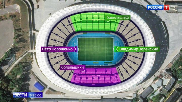 По всем законам шоу-бизнеса: Порошенко и Зеленский собирают стадион