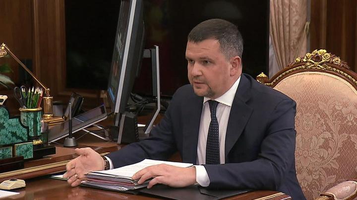 Владимир Путин провел совещание с заместителем председателя правительства