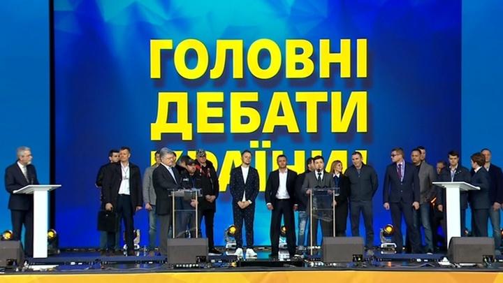 Дебаты Порошенко и Зеленского: обсуждение в студии
