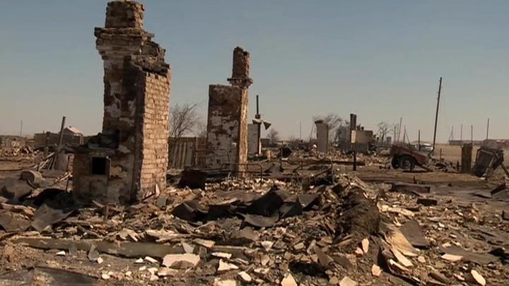 В Забайкалье оценивают ущерб от сильнейшего пожара