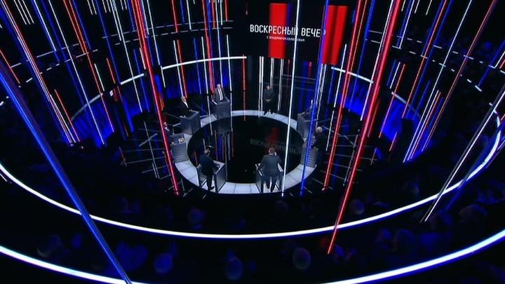 Вечер с Владимиром Соловьевым. Эфир от 22 апреля 2019 года