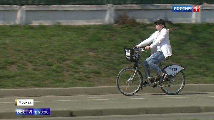 Велосипедная Москва: длина столичных велодорожек превысила токийскую
