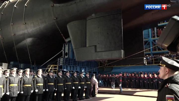 """Эпохальное событие для российского флота: подлодку """"Белгород"""" спустили на воду"""