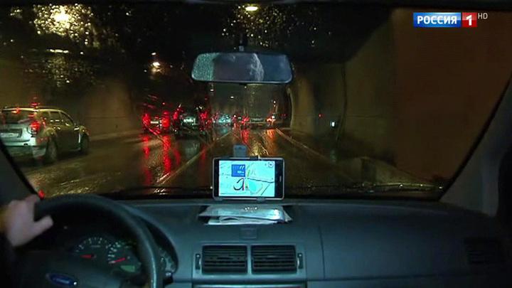 В Лефортовском тоннеле из-за прорыва трубопровода произошел потоп