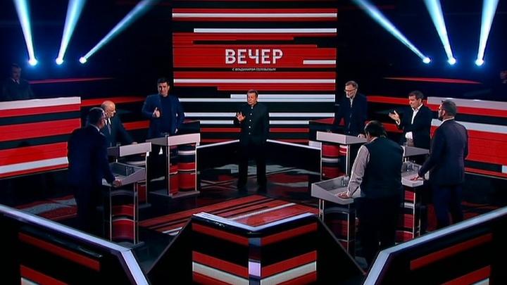 Вечер с Владимиром Соловьевым. Эфир от 23 апреля 2019 года