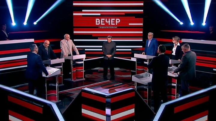 Вечер с Владимиром Соловьевым. Эфир от 25.04.2016