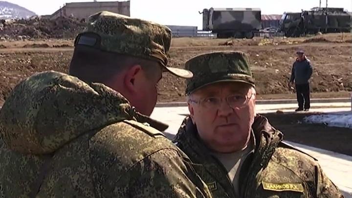 Руслан Цаликов проинспектировал положение военных на Курилах