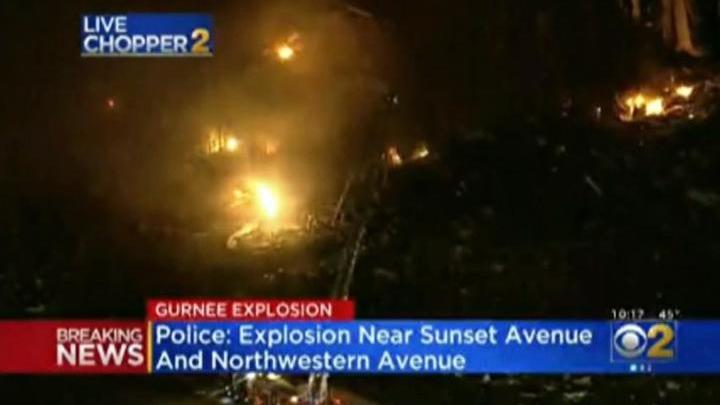 В Иллинойсе взорвалась местная фабрика