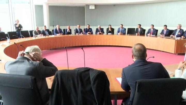 Делегация Госдумы РФ встретилась в Берлине с коллегами из Бундестага