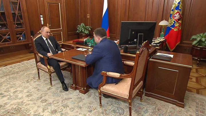 """Глава """"Промсвязьбанка"""" поделился с Путиным итогами работы в области гособоронзаказа"""