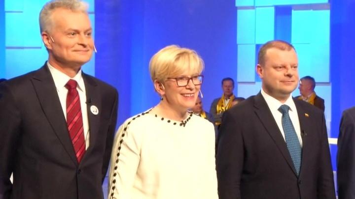 Выборы в Литве: все кандидаты-лидеры отметились антироссийской риторикой
