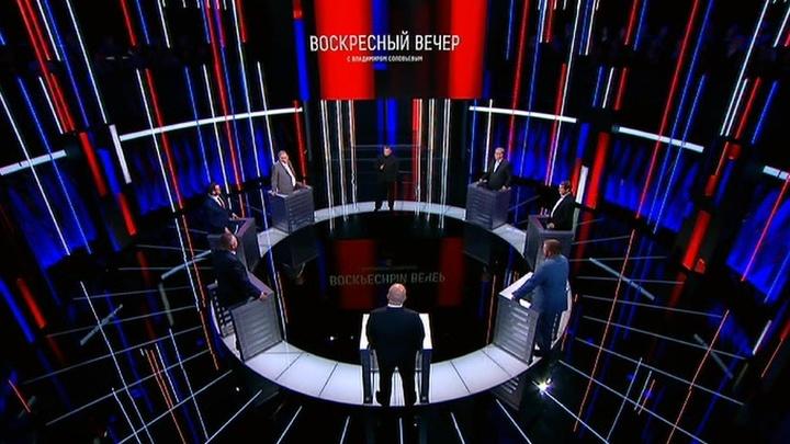 Вечер с Владимиром Соловьевым. Эфир от 13 мая 2019 года