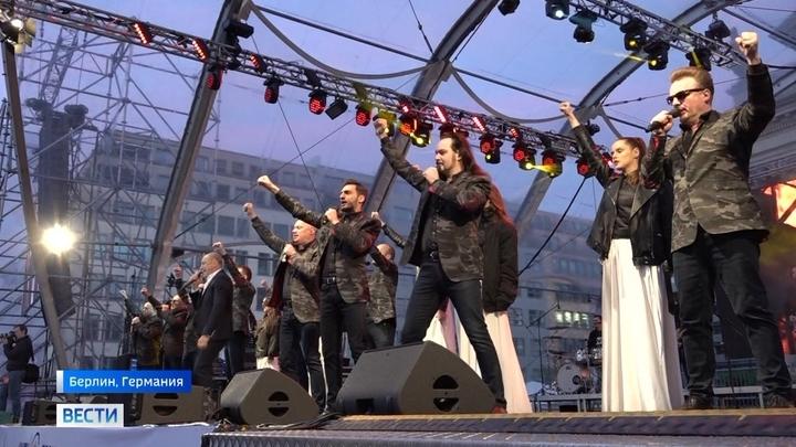 """Хор Турецкого и арт-группа """"Сопрано"""" собрали несколько тысяч зрителей в Германии"""