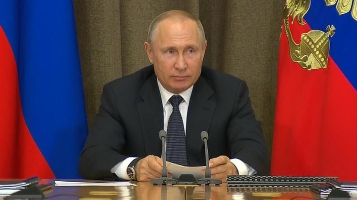 Путин: России нужна защита от гиперзвуковых вооружений