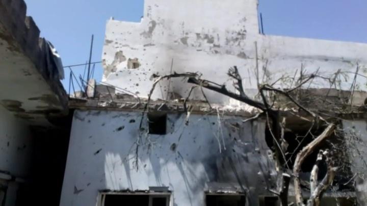 В сирийском городе Скальбия под обстрелом боевиков погибли пятеро детей