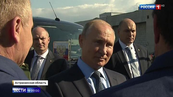 Лучшая машина в мире: Путину показали Су-57