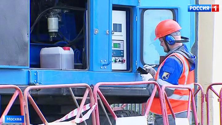 В Москве начались плановые отключения горячей воды