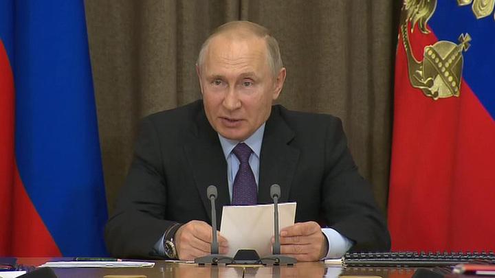 Путин сообщил о создании боевых лазерных комплексов