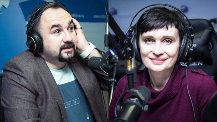 Ведущие Дмитрий Чернов и Алла Волохина