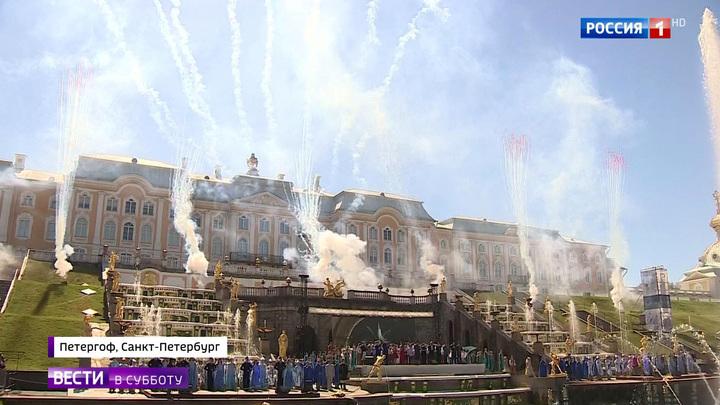 Петербург журчащий: сезон фонтанов открыт
