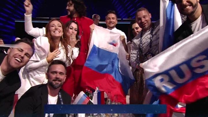 """Сергей Лазарев снова третий на """"Евровидении"""""""