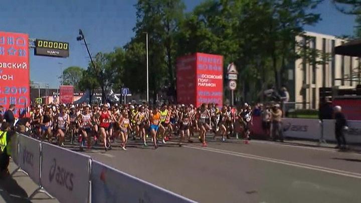 В России любители бега участвуют в самом масштабном полумарафоне