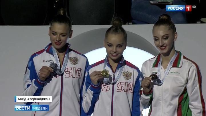 Триумф российских гимнасток: сон - главная награда