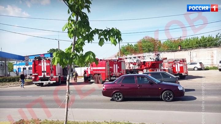 Взрыв на АЗС в Серпухове произошел во время сварочных работ