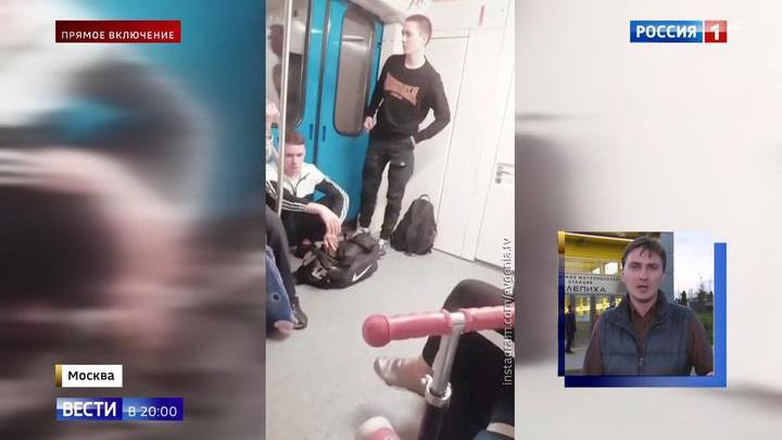 В тоннеле московского метро застряли три поезда