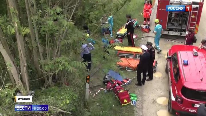 Роковая поездка: подробности страшной аварии автобуса с туристами в Италии