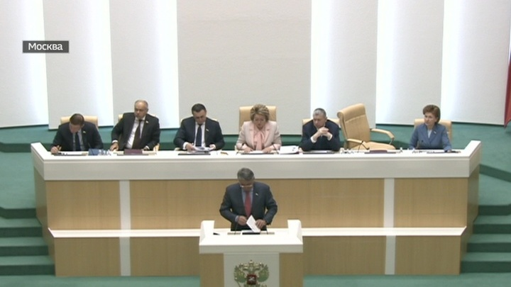 Рауф Арашуков больше не сенатор