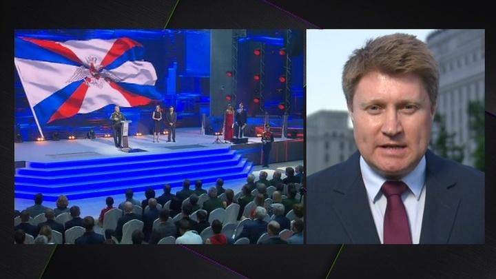 Военный корреспондент ВГТРК Антон Степаненко получил награду Минобороны