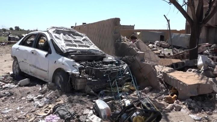 Американцы перебросили на северо-восток Сирии бывших членов террористической группировки