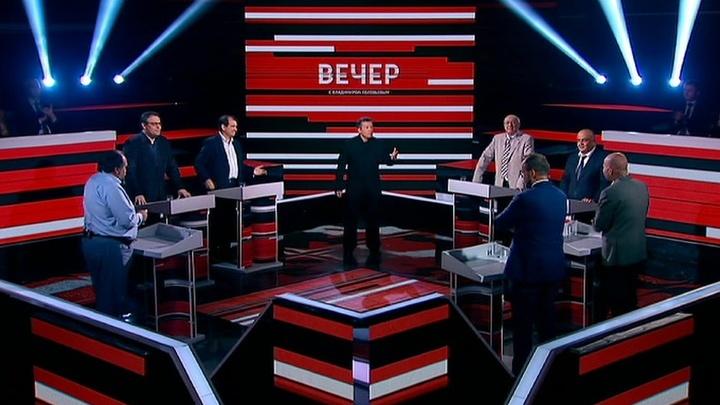 Вечер с Владимиром Соловьевым. Эфир от 24 мая 2019 мая