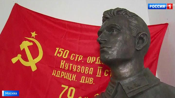 В столице открыли памятник Герою Советского Союза Хусену Андрухаеву