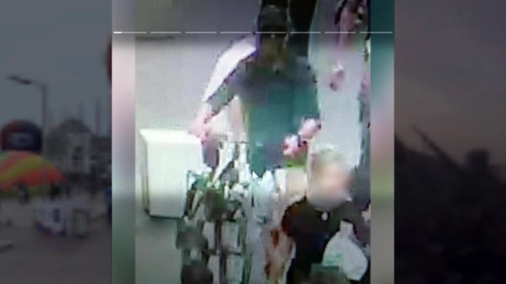 Устроивший взрыв в Лионе велосипедист попал на видео