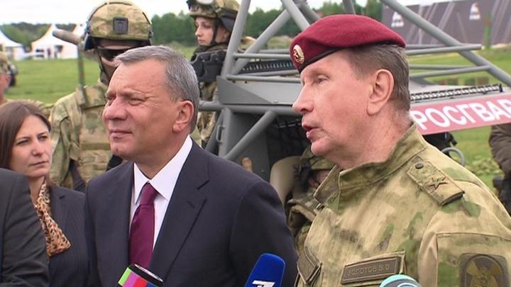 Глава Росгвардии посетил военно-технический форум в Балашихе
