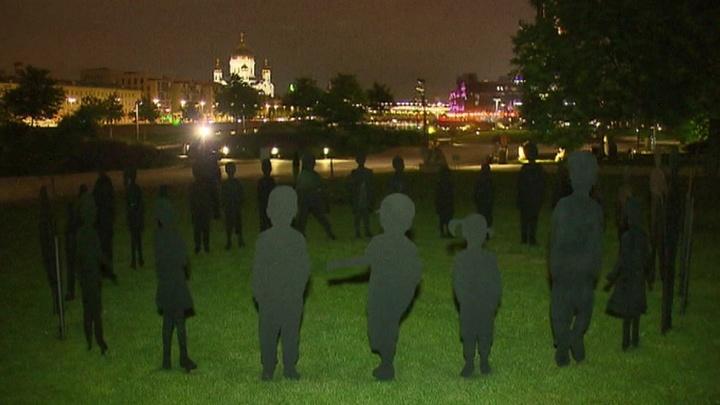 """В """"Музеоне"""" открылась инсталляция отряда """"Лиза Алерт"""""""