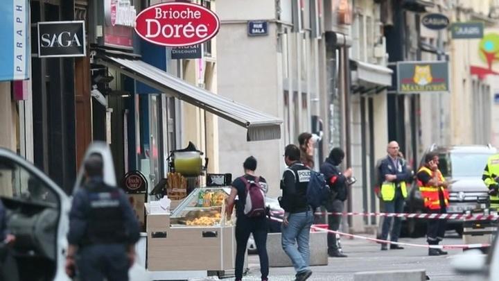 Взрыв в Лионе: полиция усиленно ищет подозреваемого