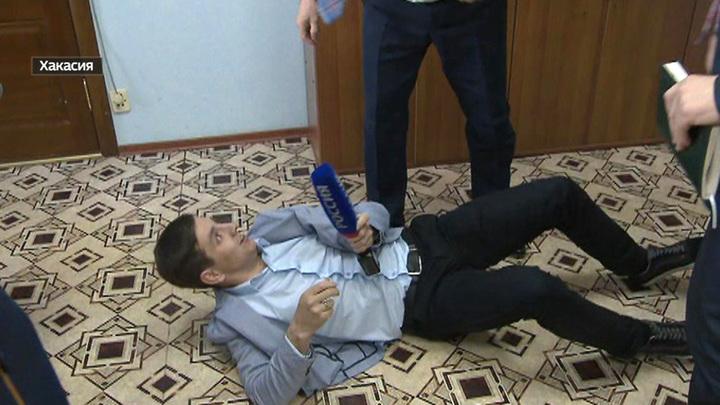 """Как районный глава в Хакасии напал на """"Дежурную часть"""""""