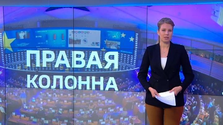 Правая колонна: в символе единения укрепились евроскептики