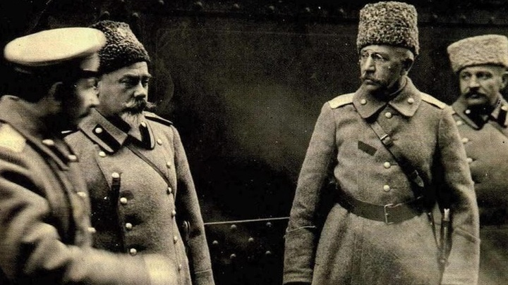 Генерал Деникин и адмирал Колчак