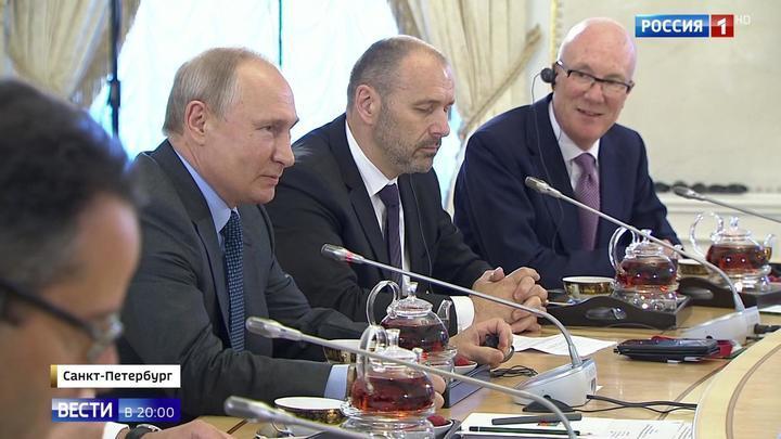 Путин призвал ядерные державы задуматься над коллективной безопасностью на планете