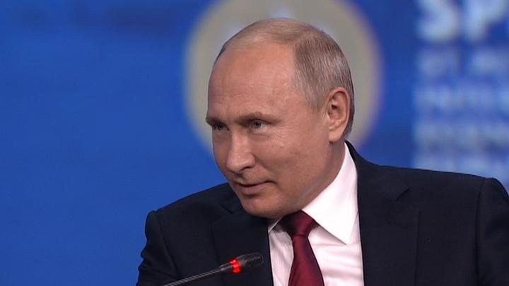 Путин поделился пословицей про умную обезьяну