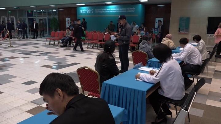 В Казахстане стартовали выборы президента